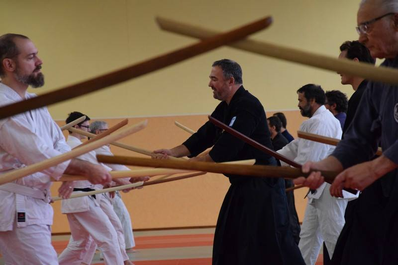 20171118 stage national kobudo parthenay
